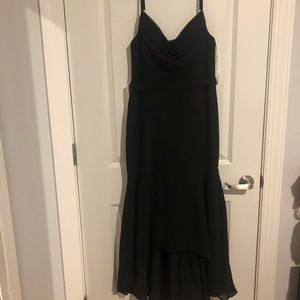 Black bridesmaids/prom/formal dress!